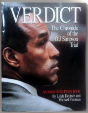 Verdict: Chronicle of the OJ Simpson trial book page
